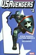 U.S.AVENGERS #1N  Variant Cover Rod Reis Delaware State Variant Cover