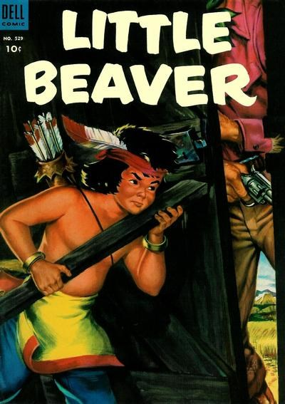 (Dell) Cover for Little Beaver (Four-Color) #529