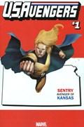 U.S.AVENGERS #1V  Variant Cover Rod Reis Kansas State Variant Cover
