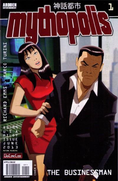 (Ardden-Entertainment) Cover for Mythopolis #1 Cover D by Des Taylor