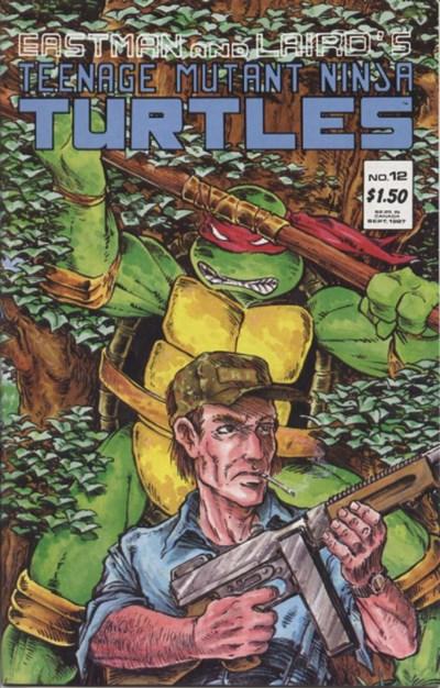 (Mirage Studios) Cover for Teenage Mutant Ninja Turtles #12