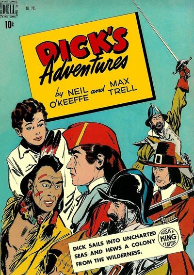 Comic Cover for Dick's Adventures (Four-Color) (#245)