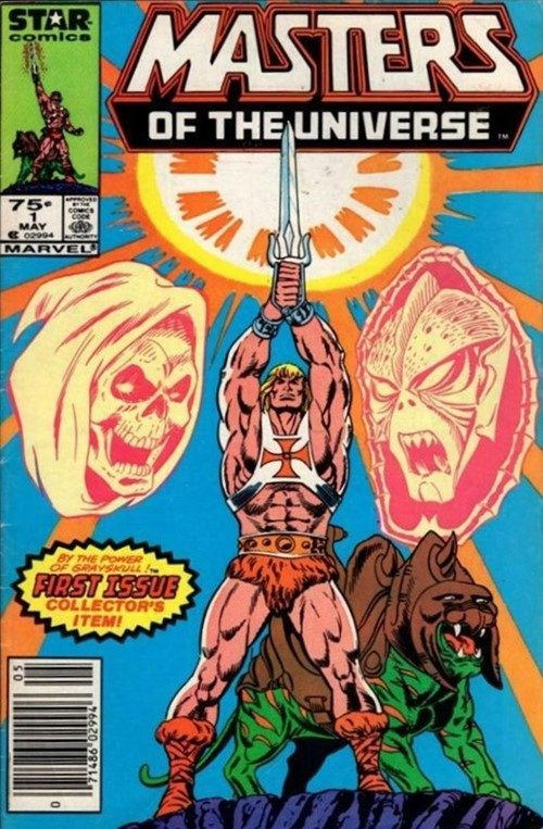 (Star) Cover for Masters Of The Universe #1 1st Masters of the Universe in Marvel Comics