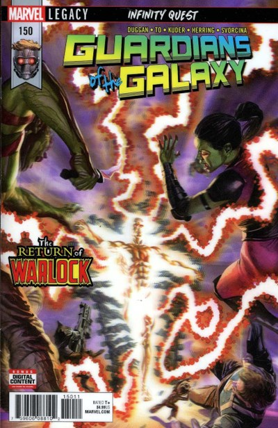 Comic Cover for Guardians Of The Galaxy (Marvel Legacy) (#150)