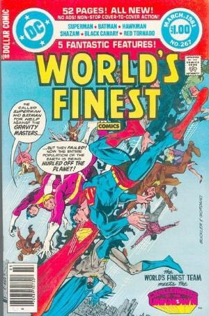 (DC) Cover for World's Finest Comics #267 5th Appearance of Black Adam