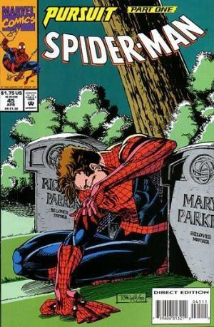 (Marvel) Cover for Spider-Man #45