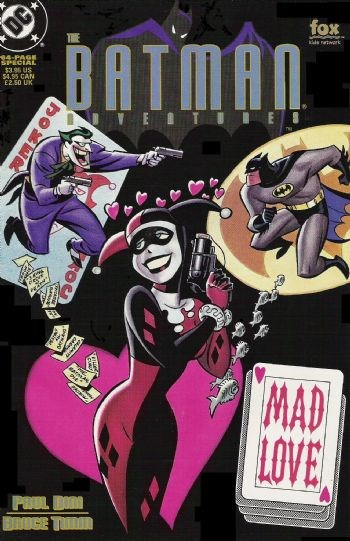 Comic Cover for Batman Adventures: Mad Love (#1)