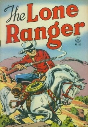 Comic Cover for Lone Ranger, The (Four-Color) (#167)