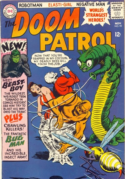 Comic Cover for DOOM PATROL (#)