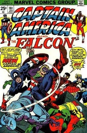 Comic Cover for Captain America (#181)