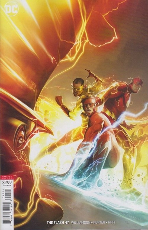 (DC) Cover for Flash, The #47 Francesco Mattina Variant Cover