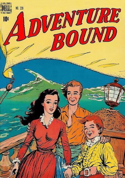 Comic Cover for Adventure Bound (Four-Color) (#239)