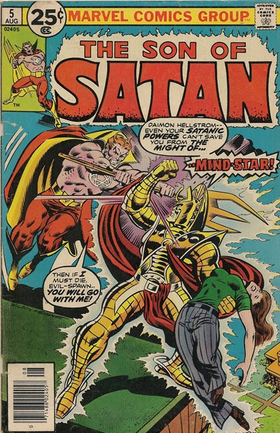 Comic Cover for Son Of Satan (#5)