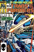TRANSFORMERS #4A  Variant Cover 2nd Print (No Indication in Indicia, November Bullpen and Ads)