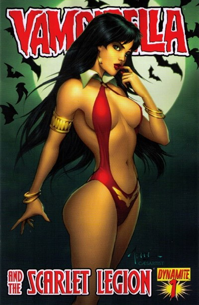 (Dynamite Entertainment) Cover for Vampirella And The Scarlet Legion #1 Billy Tucci Cover