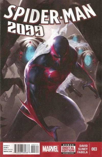 (Marvel) Cover for Spider-Man 2099 #3