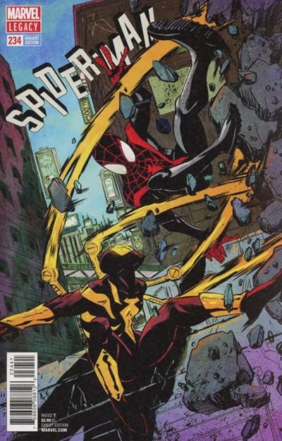 (Marvel) Cover for Spider-Man #234 Sanford Greene Variant Cover. Limited 1 for 25.