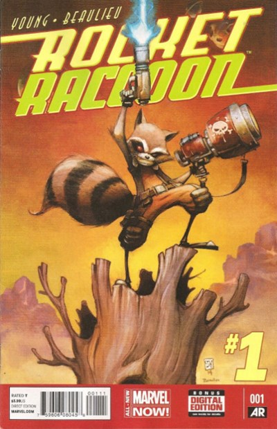 (Marvel) Cover for Rocket Raccoon #1