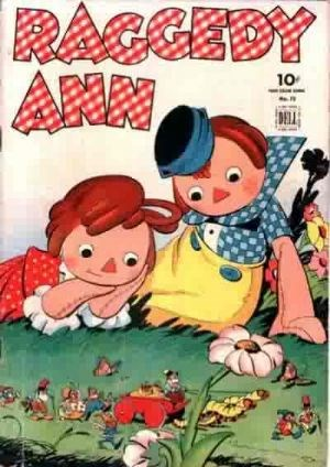 Comic Cover for Raggedy Ann And Andy (Four-Color) (#72)