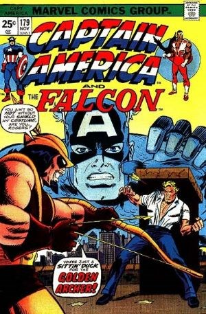 Comic Cover for Captain America (#179)