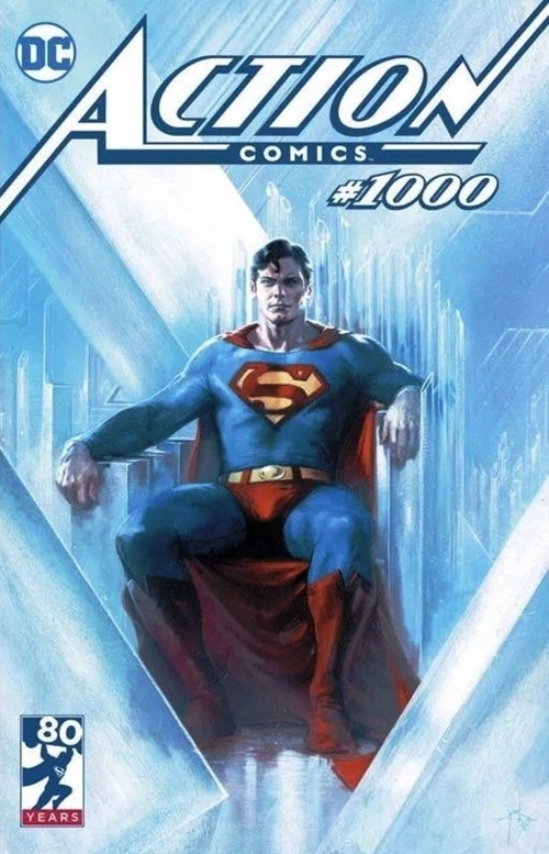 (DC) Cover for Action Comics #1000 Bulletproof Comics Exclusive Gabriele Dell'Otto Variant Cover Limited to 2500