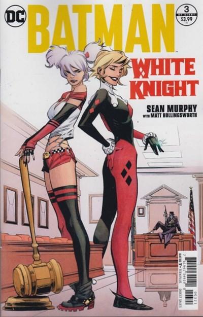 Comic Cover for Batman: White Knight (#3)