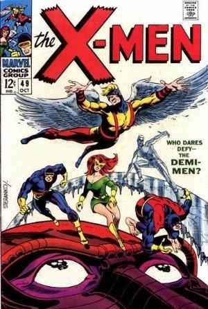 (Marvel) Cover for X-Men #49 First Appearance of Polaris, 1st Jim Steranko X-Men Cover
