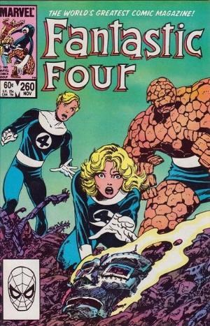 (Marvel) Cover for Fantastic Four #260 Direct Edition