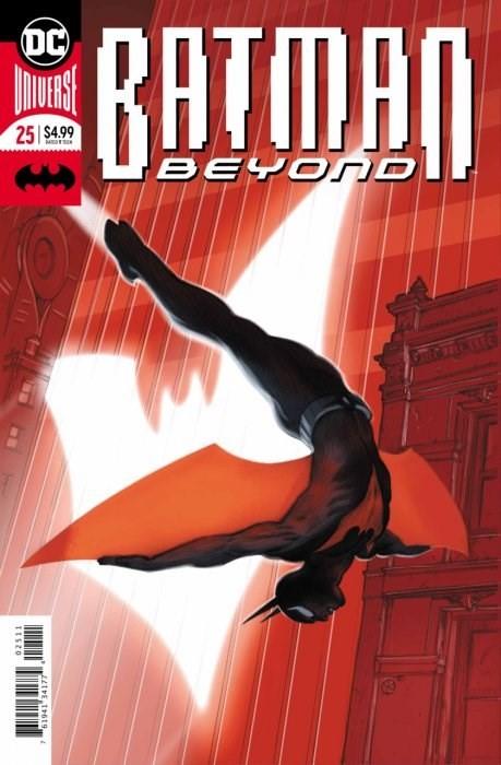 (DC) Cover for Batman Beyond #25 1st Appearance of Elainna Grayson /Batwoman - Enhanced Foil Cover