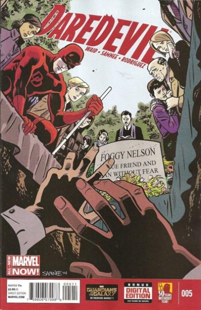 Comic Cover for Daredevil (#5)