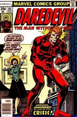 Comic Cover for Daredevil (#151)