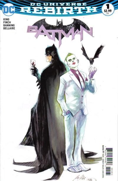 (DC) Cover for Batman #1 Fried Pie Exclusive Rafael Albuquerque Variant Cover