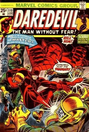 Comic Cover for Daredevil (#110)