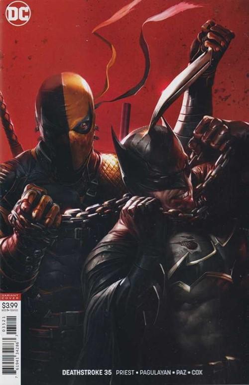(DC) Cover for Deathstroke #35 Francesco Mattina Variant Cover