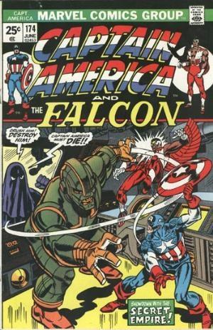 Comic Cover for Captain America (#174)