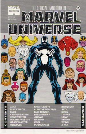 Comic Cover for OFFICIAL HANDBOOK OF THE MARVEL UNIVERSE MASTER EDITION (#)