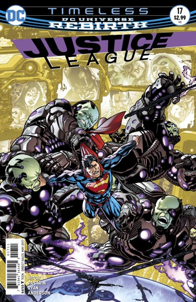 Comic Cover for Justice League (#17)