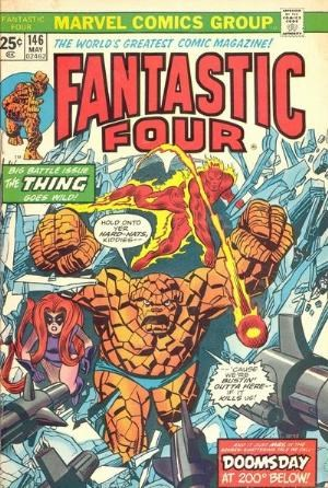 Comic Cover for Fantastic Four (#146)