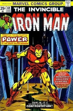 Comic Cover for Iron Man (#69)