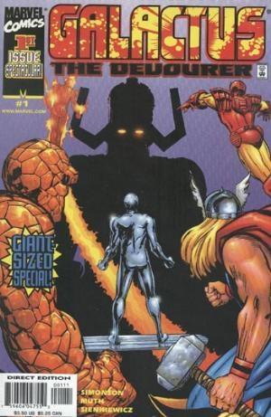 (Marvel) Cover for Galactus The Devourer #1