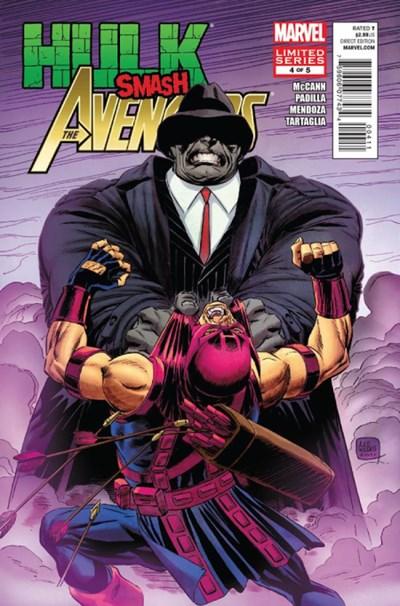 (Marvel) Cover for Hulk Smash Avengers #4