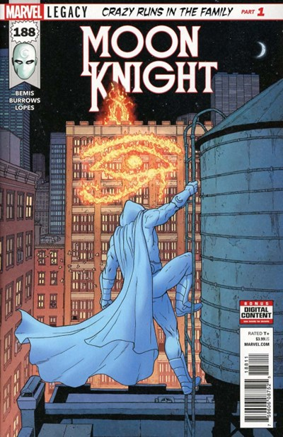 Comic Cover for Moon Knight (Marvel Legacy) (#188)