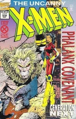 (Marvel) Cover for Uncanny X-Men #316 Holofoil Edition