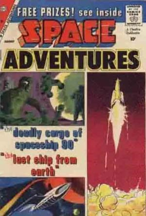 (Charlton) Cover for Space Adventures #32 Art by Steve Ditko.