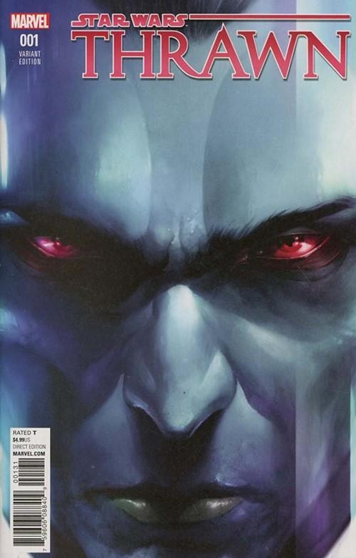 (Marvel) Cover for Star Wars: Thrawn #1 Francesco Mattina Variant Cover. Limited 1 for 50.