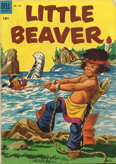 (Dell) Cover for Little Beaver (Four-Color) #483