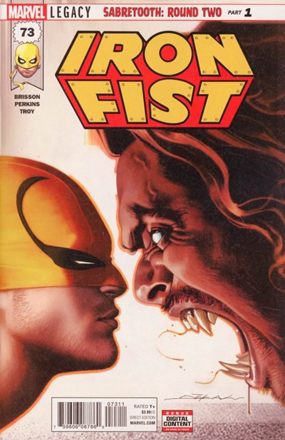 Comic Cover for Iron Fist (#73)