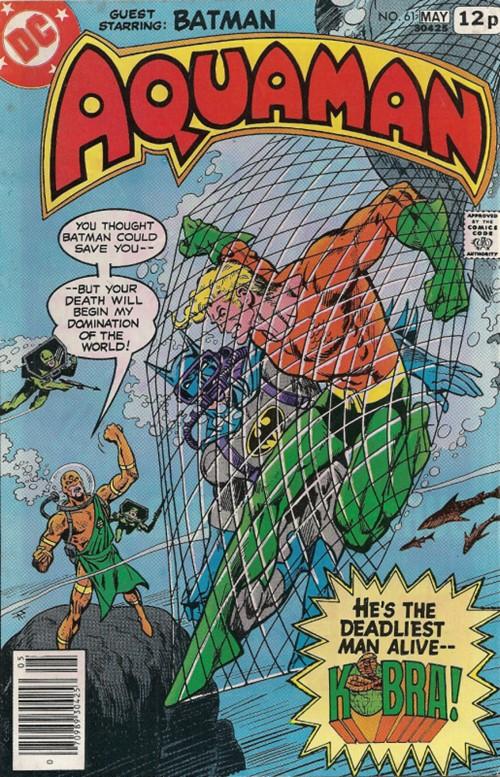 Comic Cover for AQUAMAN (#)