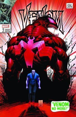 (Marvel) Cover for Venom #1 Scorpion Comics Exclusive Whilce Portacio Amazing Spider-Man #50 Homage Variant