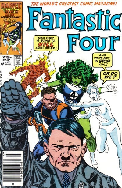 (Marvel) Cover for Fantastic Four #292 Newsstand Edition